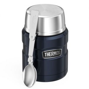 Thermos Stainless King 16 oz. Food Jar with Spoon