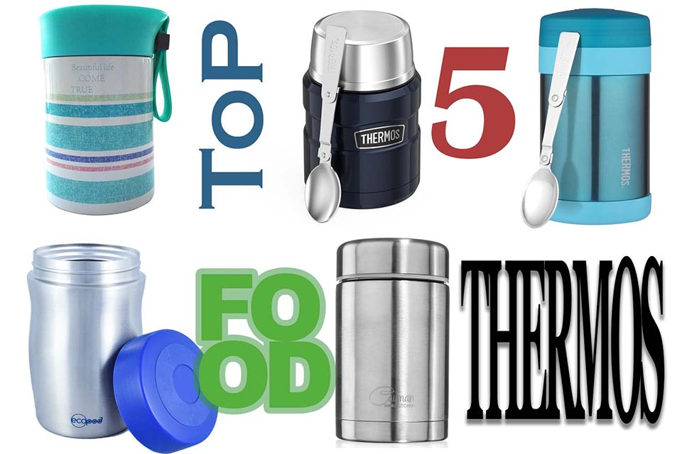 top 5 food thermos featured image