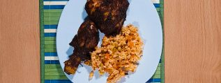 Mexican Style Barbacoa Chicken - Plate