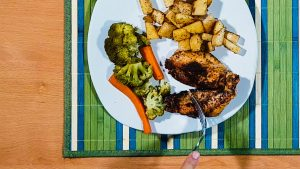 Meal Prep Blackened Chicken Recipe - Plating