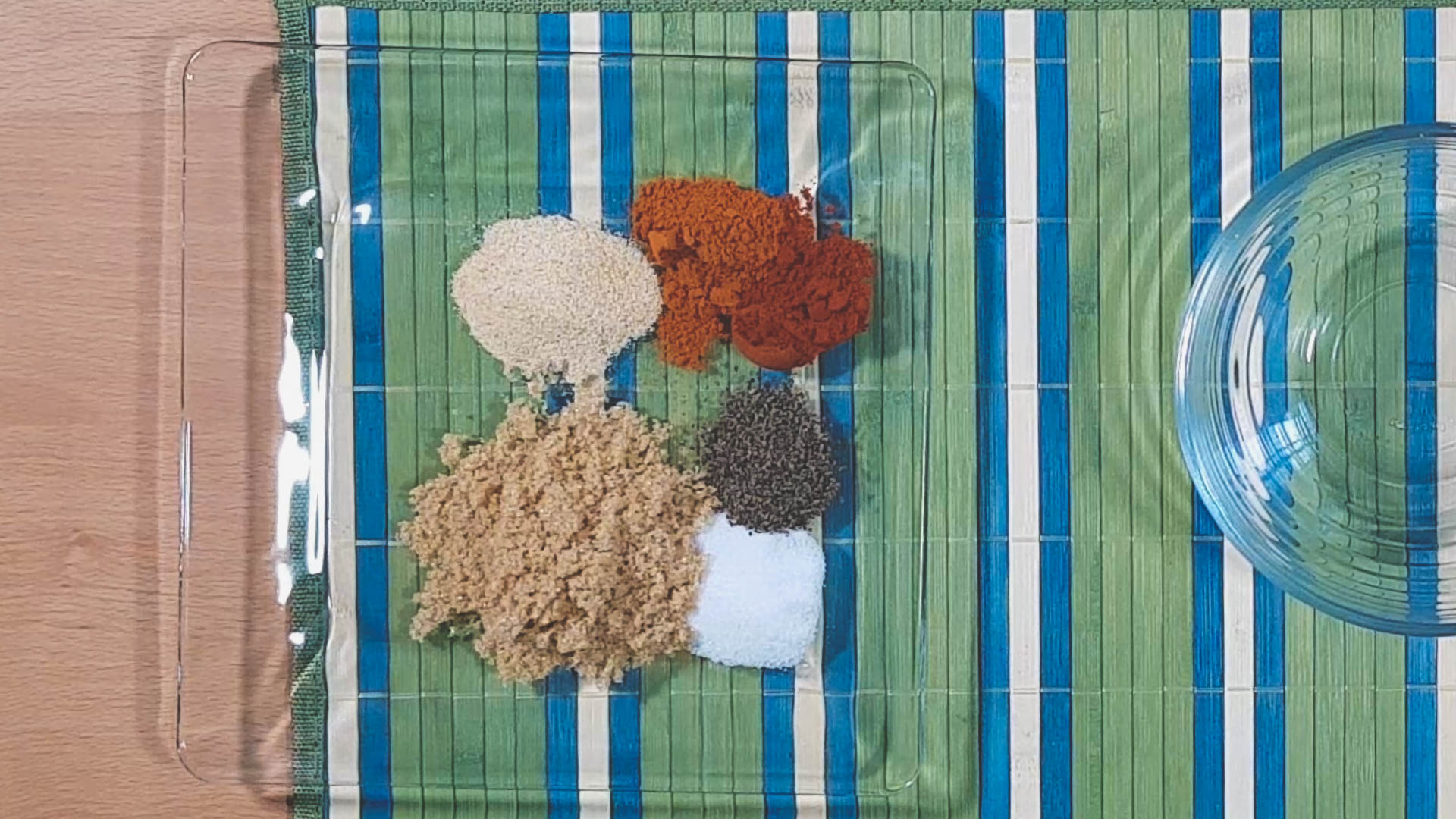 The Ingredients Needed for the Easy Smoked BBQ Chicken Seasoning Mix