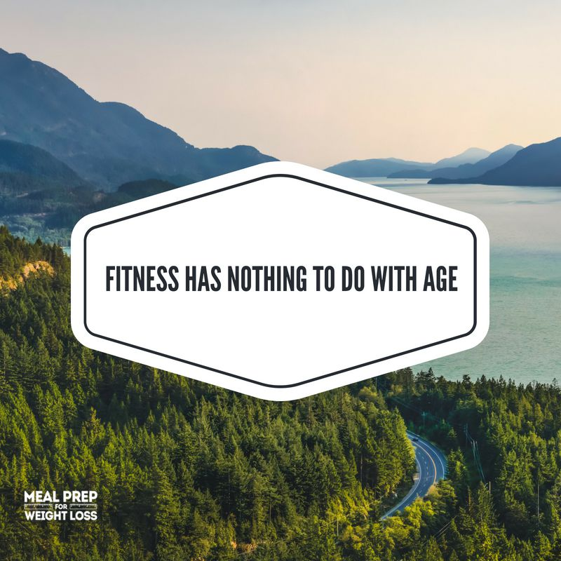 Fitness has nothing to do with age